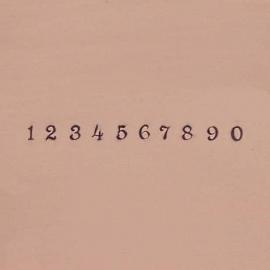 Circinus - cijfers, 2,5mm