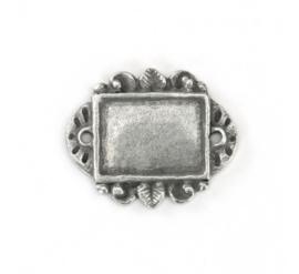 Artisan rechthoek (ImpressArt), tin   green girl, rectangle