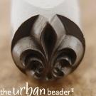 Fleur de Lis, 6mm (UrbanBeader)