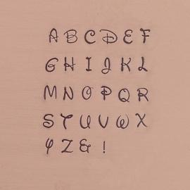 Alle lettersets bij elkaar