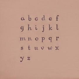 Circinus set - hoofdletters en kleine letters 3mm