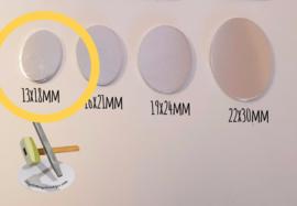 KOPER - Ovaal 13x18mm (per 10 stuks)