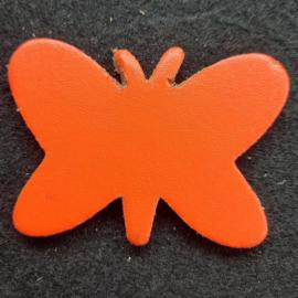 Leer Vlinder Kl. - Effen (LVS013)