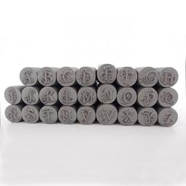 Ara - hoofdletters, 3mm