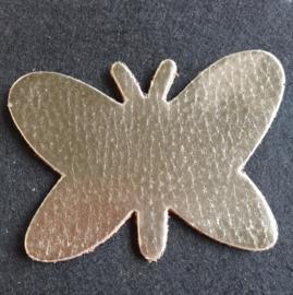 Leer: Vlinder - Metallic (LVL018)