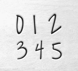 Melody - cijfers, 3mm