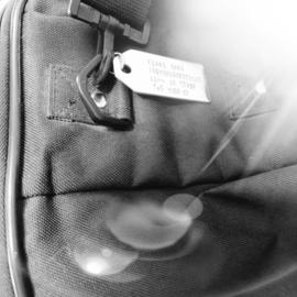 Label | aluminium, 60x30mm met gat 6mm