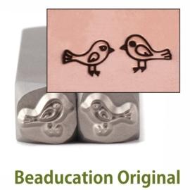 Love Birds Large, 7,5x5,5mm  (Beaducation)