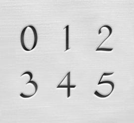 Celtic - cijfers, 3mm