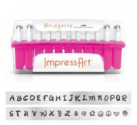 Bridgette - hoofdletters, 3mm