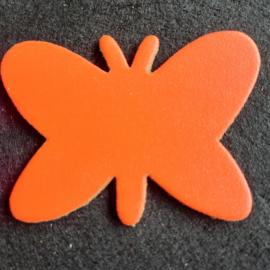 Leer: Vlinder - Effen (LVL003)