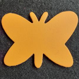 Leer: Vlinder - Effen (LVL009)