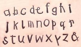 Kids Print- kleine letters, 3mm