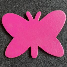 Leer: Vlinder - Effen (LVL005)