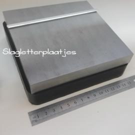 Vlaktas Large met rubber onderstel 14,5x14,5cm