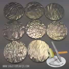 Textuur hamer met 7 grote verwisselbare koppen