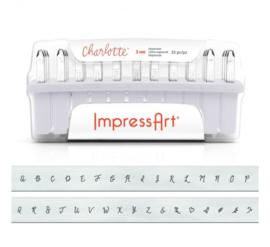 Charlotte - hoofdletters, 3mm