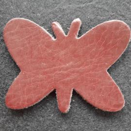 Leer Vlinder Kl. - Effen (LVS001)