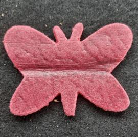 Leer Vlinder Kl. - Effen (LVS006)