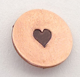 Heart solid, 3mm (UrbanBeader)