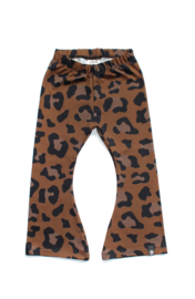 Flared | Leopard Brown