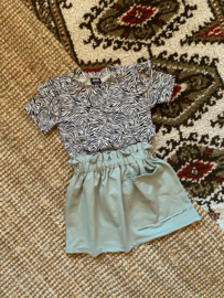 Pocket Skirt | Dusty Green