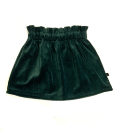 Skirt | Velours Green