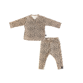 Newborn setje   Cheetah zand