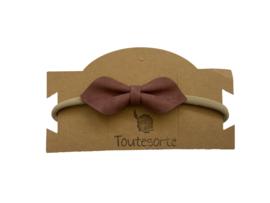 Bow Haarband Mauve