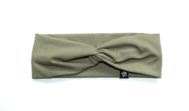 Twisted Headband | Olive Green