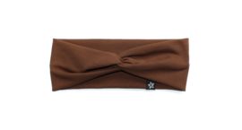 Twisted headband | Basic Brown