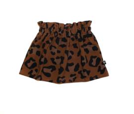 Skirt | Leopard Brown