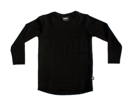 Pocket Longsleeve   Zwart