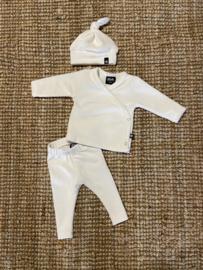 Newborn Setje | Rib Off White