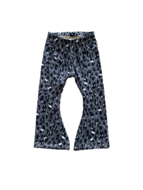 Flared | Leopard Grey