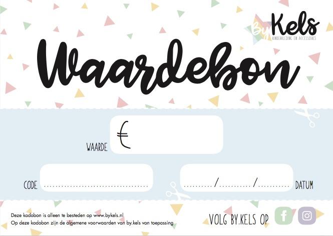 Kadobon v.a €5,00