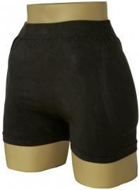 Heupbeschermer WonderHip® zwart (1 stuk unisex ondergoed incl. heupbeschermers)