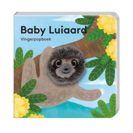Vingerpopboekje baby luiaard