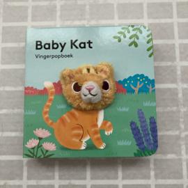 Vingerpopboekje baby kat