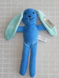 knuffelkonijn blauw