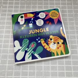 Jungle kleuren met water