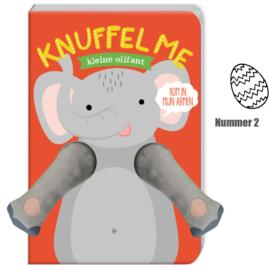 Voorleesboek knuffel me kleine olifant