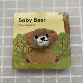Vingerpopboekje baby beer