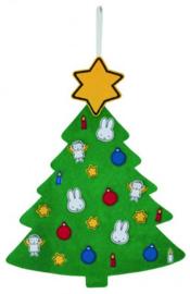 Nijntje vilten kerstboom
