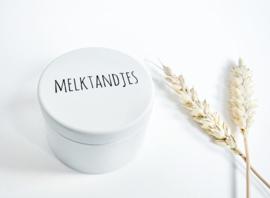 Luxe melktandjes bewaardoosje