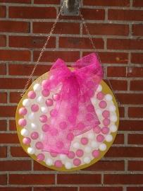 beschuit met muisjes roze