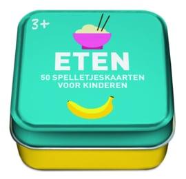 50 spelkaarten voor kinderen thema Eten