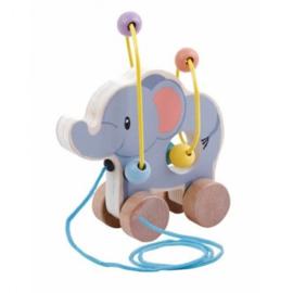 Studio circus Rolling bead coaster en olifantje