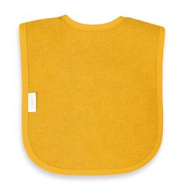 Slabber ochre geel met klittenband