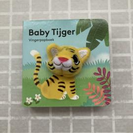 Vingerpopboekje baby tijger